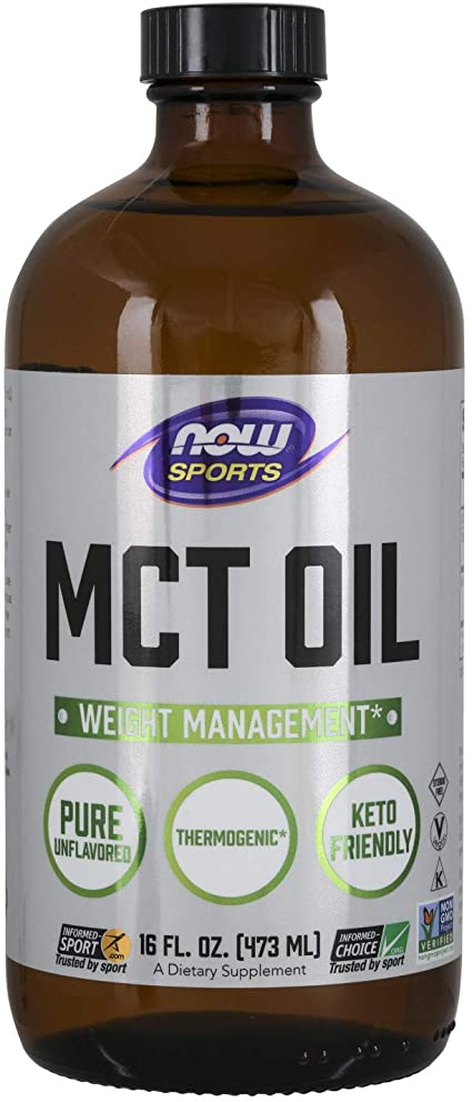 Now Sports MCT Oil Unflavored 473ml