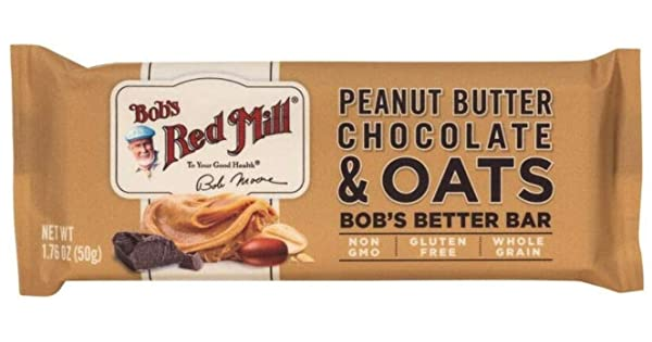 Bob's Red Mill Peanut Butter Chocolate & Oats Bob's Bar 50g