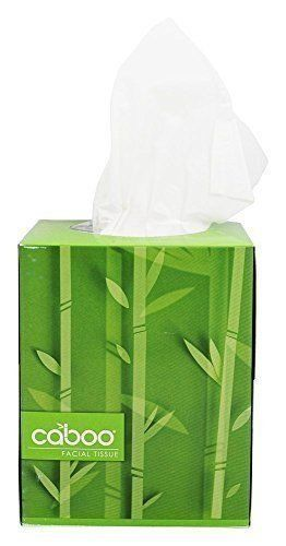 Caboo Cube Facial Tissue, 90 sheets
