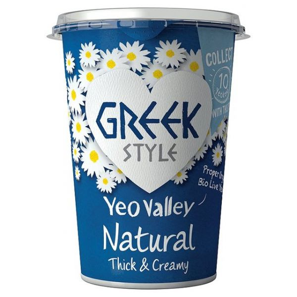 Yeo Valley Organic Greek Style Yogurt Natural 450g