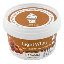 Light Whey Caramel Protein Ice Cream 200ml