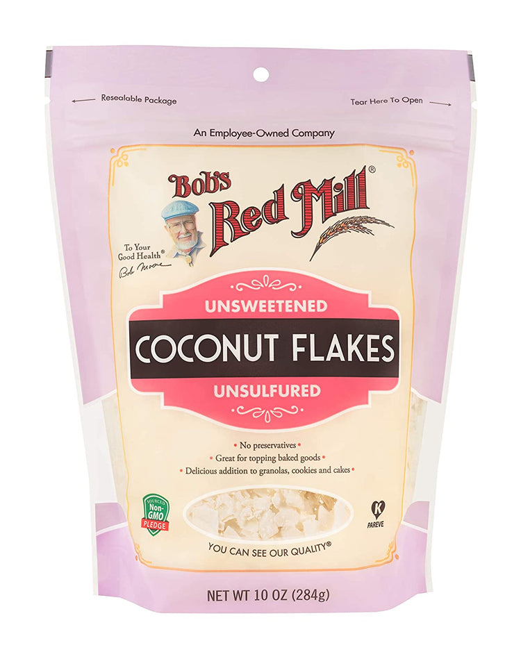 Bob's Red Mill Unsweetened Coconut Flakes 284g