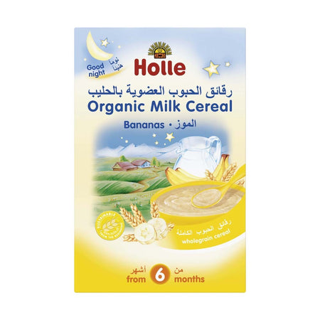 Holle Organic Milk Cereal Bananas 250g