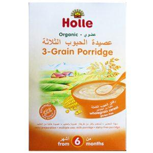 Holle Organic 3 Grain Porridge 250g