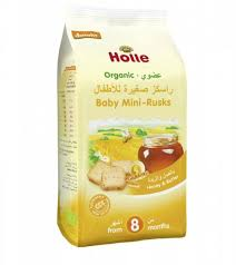 Holle Organic Baby Mini Rusks 100g