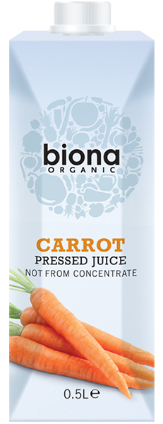 Biona Organic Carrot Pressed Juice 500ml
