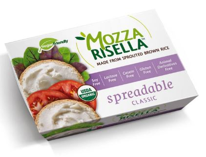 Mozzarisella Classic Spreadable Vegan Cheese 150g