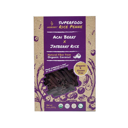 Jasberry Organic Rice Penne Acai Berry 227g