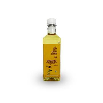 Phalada Pure & Sure Organic Sunflower Oil 500ml
