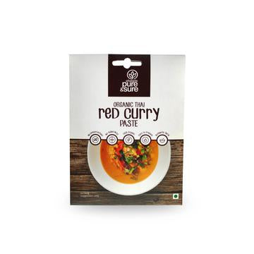 Phalada Pure & Sure Organic Thai Red Curry Paste 50g