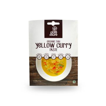 Phalada Pure & Sure Organic Thai Yellow Curry Paste 50g