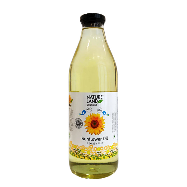 Nature Land Organic Sunflower Oil 1L