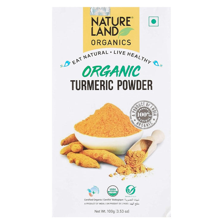 Nature Land Organic Turmeric Powder 100g