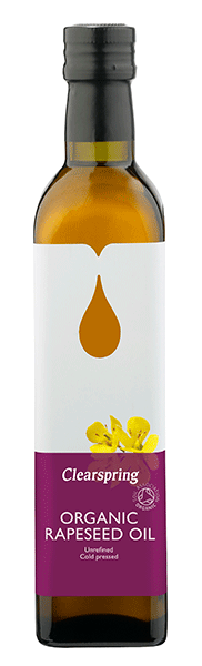 Clearspring Organic Rapeseed Oil 500ml