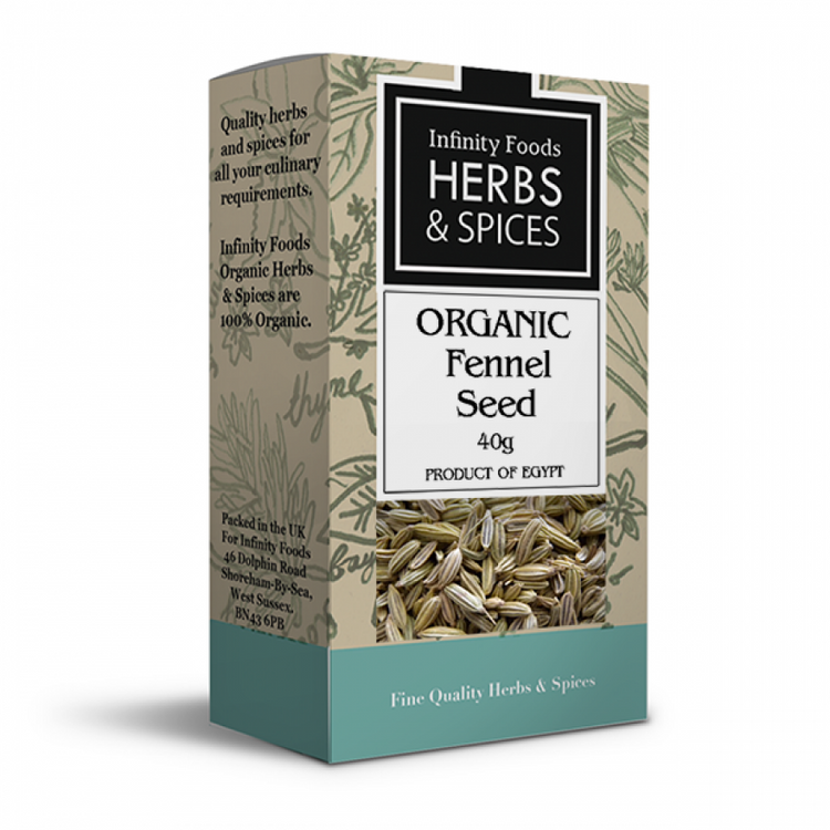 Infinity Foods Organic Fennel Seed 40g