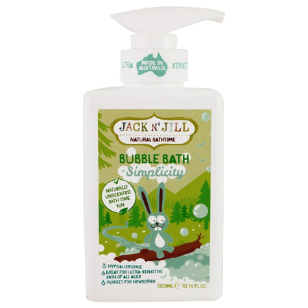 Jack N' Jill Organic Bubble Bath Simplicity 300ml
