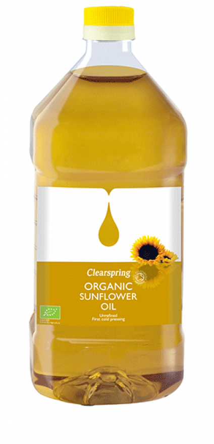 Clearspring Organic Sunflower Oil 2L