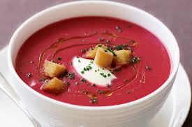 Homemade Organic Beetroot Soup
