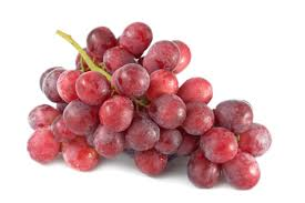 Organic Red Grapes 500g