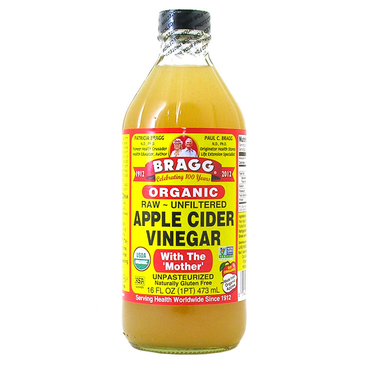 Bragg Organic Raw-Unfiltered Apple Cider Vinegar With the Mother 473ml