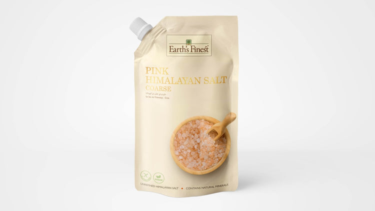 Earth's Finest Coarse Himalayan Salt 500g