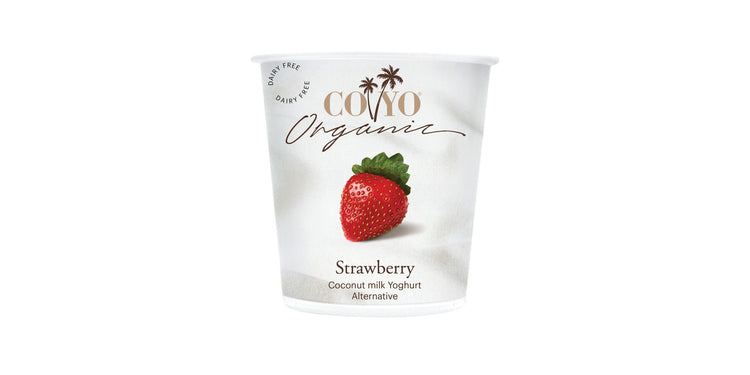 Coyo Organic Coconut Milk Strawberry Yogurt 125g