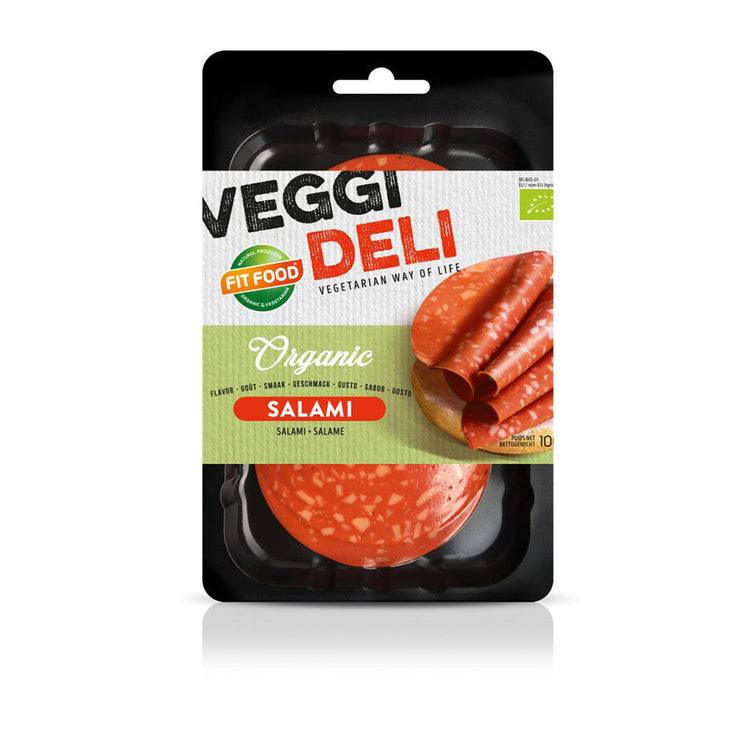 Fit Food Organic Slices Salami 100g
