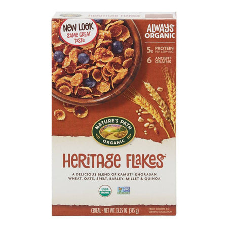 Nature's Path Organic Heritage Flakes 375g
