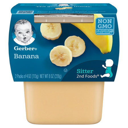 Gerber Banana Sitter 2nd Food 226g