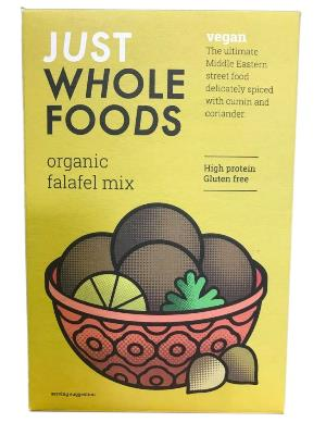 Just Whole Foods Organic Falafel Mix 120g