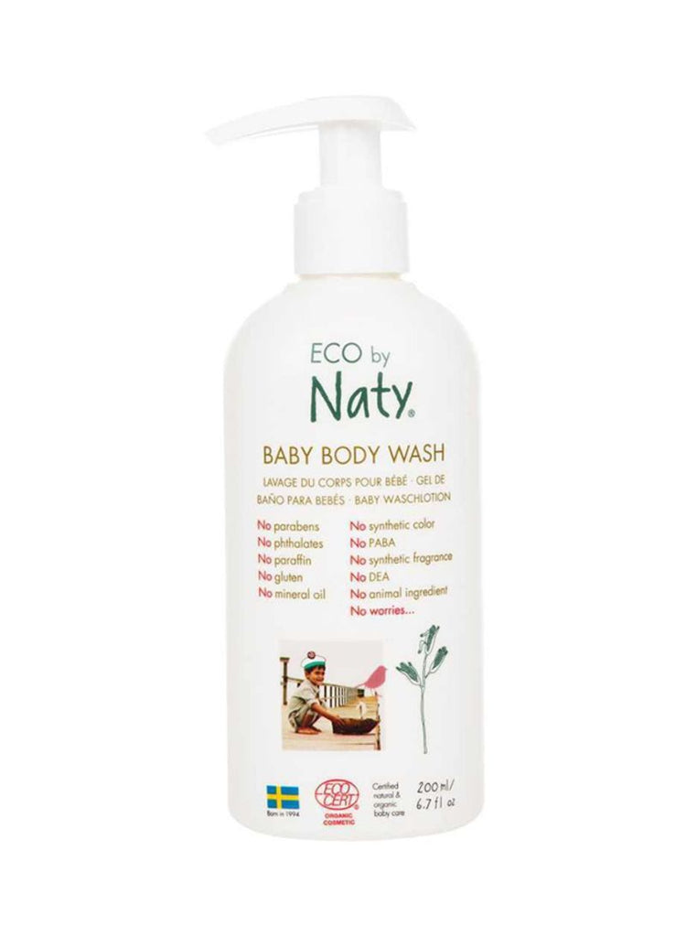 Eco by Naty Baby Body Wash 200ml