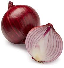 Organic Red Onions 500 gr