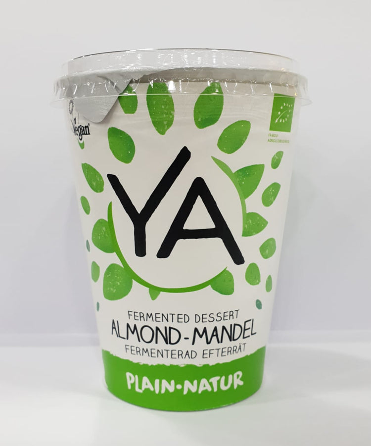 Ya Organic Almond Yogurt 400g