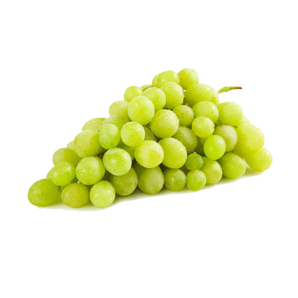 Organic White Grapes 330g