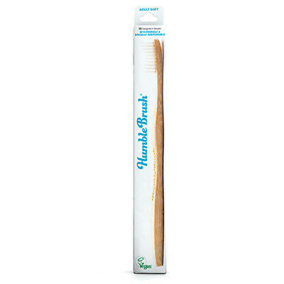 Humble Adult Soft Tooth Brush - White