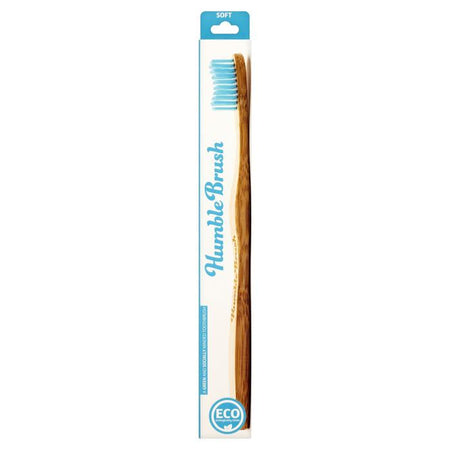 Humble Adult Soft Tooth Brush- Blue