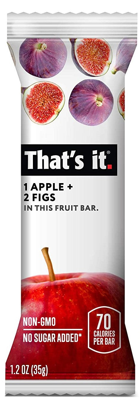 That's It Apple & Figs Bar 35g