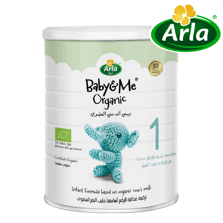 Arla Baby & Me Infant Formula based on Organic Cow's Milk 400g (from Infant to 6 months)