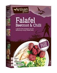 Artisan Grains Falafel Beetroot & Chilli Mix 150g