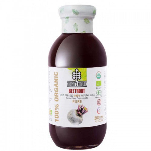 Georgia's Natural Organic Beetroot Juice 300ml