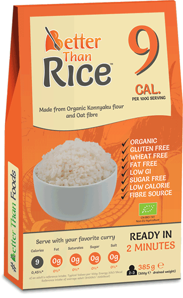 Better Than Organic Rice 385g