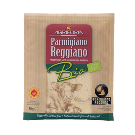 Agriform Organic Parmigiano Reggiano Cheese 50g