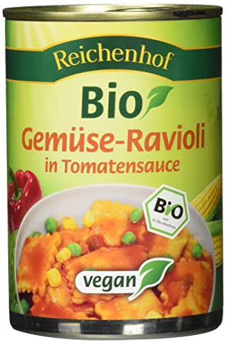 Reichenhof BIO Ravioli with Vegetable Sauce 400g