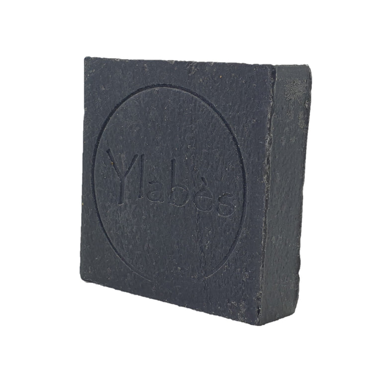 Ylabès Black Activated Charcoal Natural Handmade Soap 100g