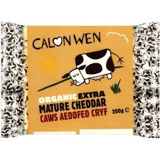 Calon Wen Organic extra Mature cheese 200 gr