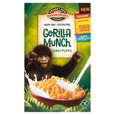 Gorilla Munch Corn Puffs 300g