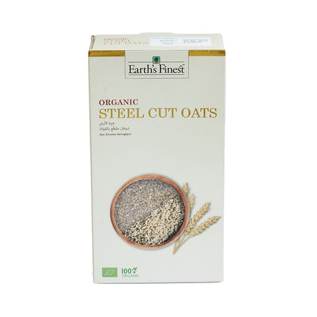 Earth's Finest Organic Steel Cut Oats 500g