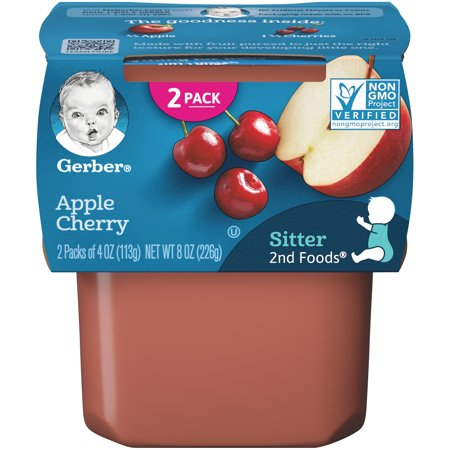 Gerber Apple Cherry Sitter 2nd Food 226g