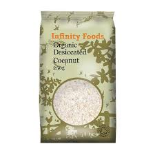 Infinity Foods Organic Dessicated Coconut 250 gr