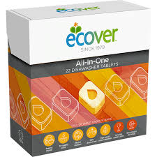 Ecover All-In-One 22 Dishwasher Tablets